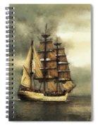 Tall Ship Spiral Notebook