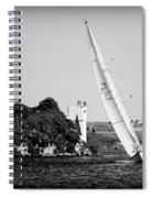 Tall Ship Race 1 Spiral Notebook