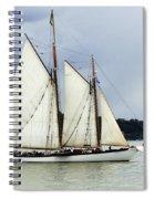 Tall Ship Tacoma Spiral Notebook
