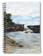 Tanah Lot Temple II Bali Indonesia Spiral Notebook
