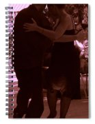 Tango Barcelona Spiral Notebook