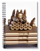 Tank From Shells Spiral Notebook