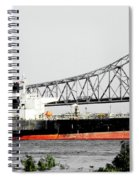 Tanker Baton Rouge Spiral Notebook