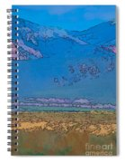 Taos Abstract Spiral Notebook