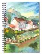Tarascon Sur Ariege 01 Spiral Notebook