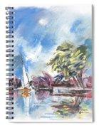 Tarn Et Garonne In France 01 Spiral Notebook