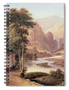 Tasmanian Gorge Spiral Notebook