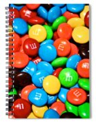 Tasting Color Spiral Notebook