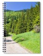 Tatra Mountains In Poland Spiral Notebook