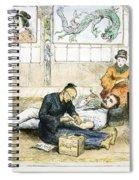 Tattoo Parlor, 1882 Spiral Notebook
