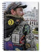 Tattoos And Patches Spiral Notebook