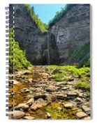 Taughannock Falls Canyon Spiral Notebook