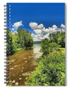 Taughannock Falls Creek Spiral Notebook