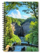 Taughannock Falls Overlook Spiral Notebook