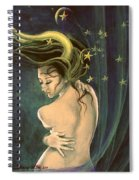 Taurus From Zodiac Series Spiral Notebook