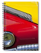 Taxi De Soto Spiral Notebook