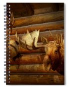 Taxidermy - The Hunting Lodge  Spiral Notebook