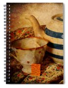 Tea And Pear Spiral Notebook