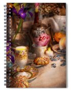 Tea Party - The Magic Of A Tea Party  Spiral Notebook