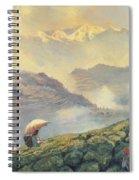 Tea Picking - Darjeeling - India Spiral Notebook