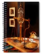 Tea Scale Spiral Notebook