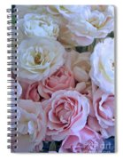 Tea Time Roses Spiral Notebook