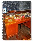 Teacher's Desk Spiral Notebook
