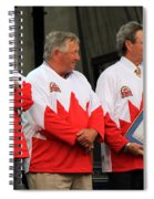 Team Canada 1 Spiral Notebook