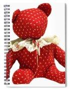 Teddy Bear Of Love Spiral Notebook