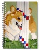 Teddy Weaves Spiral Notebook