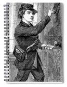 Telegraph Messenger, 1869 Spiral Notebook