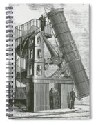 Telescope At The Paris Obervatory Spiral Notebook
