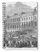 Temperance Rally, 1853 Spiral Notebook
