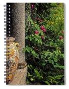 Temple And Garden Urn, The Wild Garden Spiral Notebook