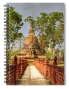 Temple Bridge Spiral Notebook