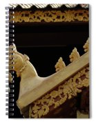 Temple Detail Laos Spiral Notebook