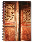Temple Door Spiral Notebook