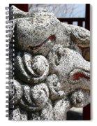 Temple Guard Spiral Notebook