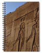 Temple Of Dendara Egypt Spiral Notebook