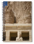 Temple Of Hatshepsut Spiral Notebook