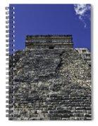 Temple Of Kukulkan Three Spiral Notebook