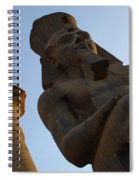 Temple Of Luxor Ramses Ll Spiral Notebook