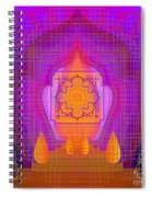 Temple Of The Inner Flame 2012 Spiral Notebook