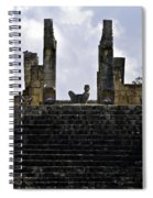 Temple Of The Warriors Spiral Notebook