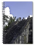 Temple Of The Warriors Three Spiral Notebook