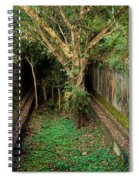 Temple Overgrown By The Jungle Spiral Notebook