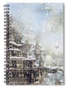 Temples Of The North Spiral Notebook