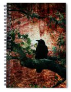 Tempting Fate Spiral Notebook