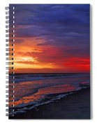 Ten Minutes On The Beach  Spiral Notebook