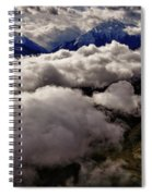 Ten Thousand Feet Over Denali Spiral Notebook